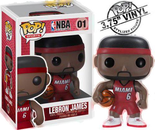 Funko POP NBA Lebron James Vinyl Figure