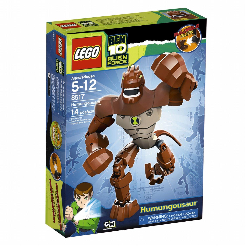 LEGO Ben 10 Alien Force Humongousaur (8517) – Plush Island