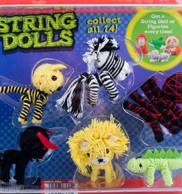 Animal String Dolls mixed with Mini-Malz