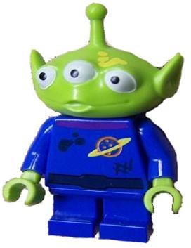 Alien - Yellow Splotch on Face