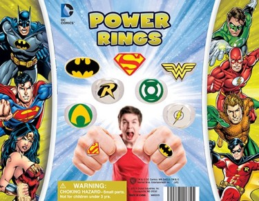 DC Comic Power Rings