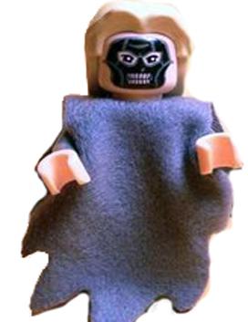 Death Eater, Dark Bluish Gray Dementor Style Cape