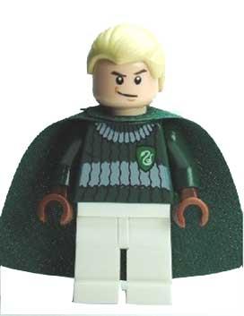 Draco Malfoy, Dark Green and White Quidditch Uniform