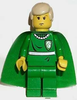 Draco Malfoy, Green Quidditch Uniform