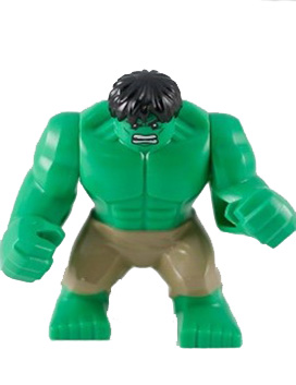 Hulk - Giant, Dark Tan Pants