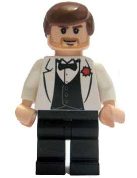Indiana Jones - White Tuxedo Jacket