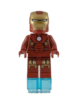Iron Man with Circle on Chest (6869)