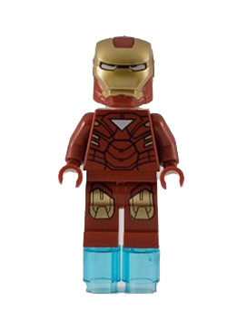 Iron Man with Triangle on Chest