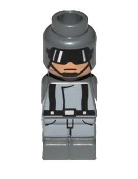 Microfig Star Wars AT-ST Pilot