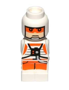 Microfig Star Wars Rebel Pilot