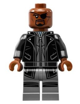 Nick Fury - Leather Trench Coat