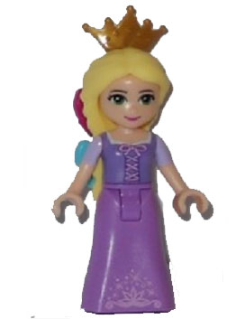 Rapunzel with Bows and Tiara