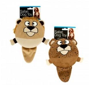 Safari Dog Squeak Toy