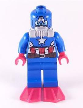 Scuba Captain America