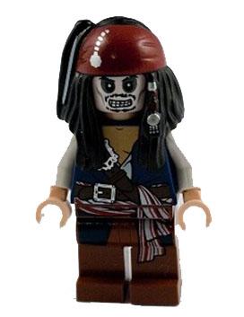 Captain Jack Sparrow Skeleton