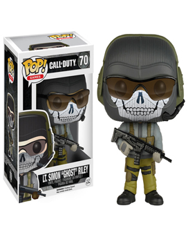 Funko Ghost Riley Call of Duty Gamestop Exclusive