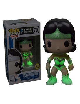 Green Lantern Vinyl Figure White Lantern Wonder Woman Pop