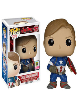 Funko Unmasked Captain America - 2015 Convention Exclusive