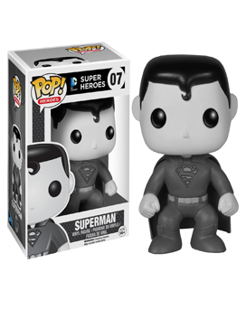 Funko Pop! DC Heroes #07 Black & White Superman