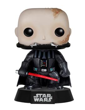 Unmasked Darth Vader Action Figure