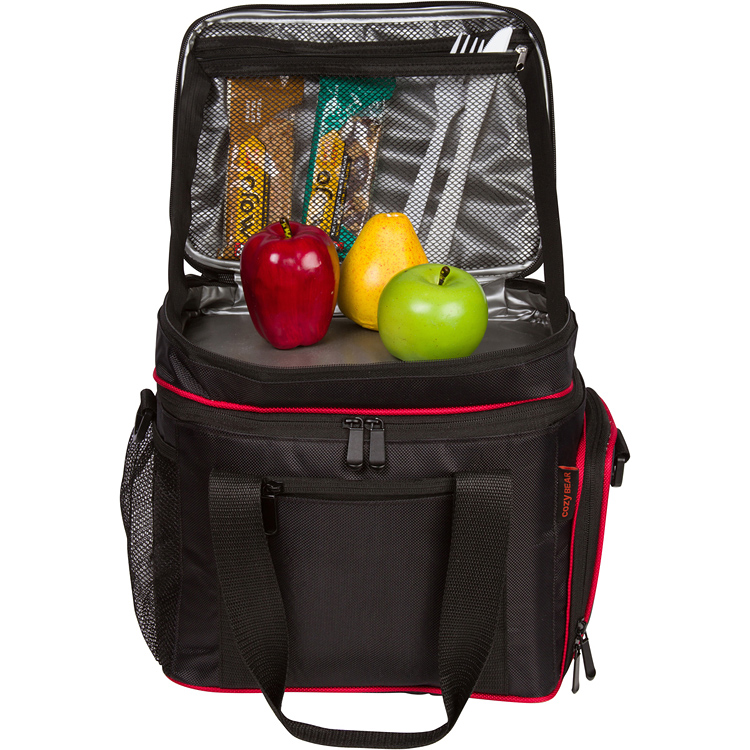Insulated Cooler Lunch Bag - Multiple Storage Pockets ...